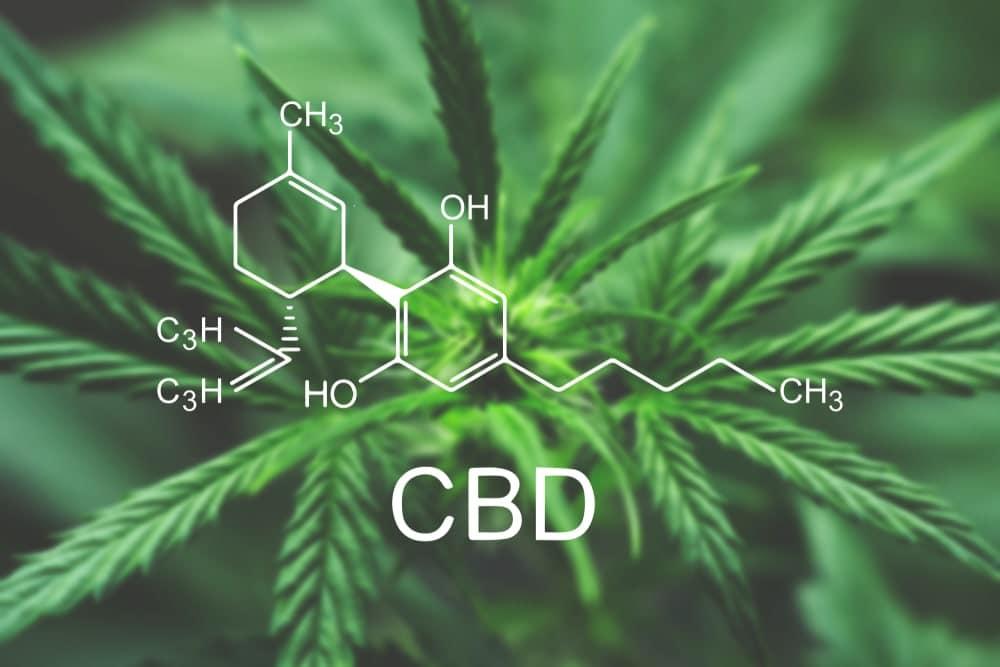 chemical makeup of CBD